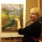 Linda Matthews Pastel demonstration evening on Nov 18th 2013