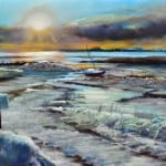 Stoney Creek in Winter by Mary wells