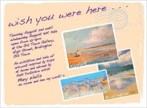 wish you were here flyer