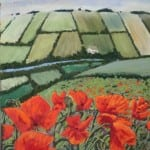 Wold Poppies by Duncan Baird
