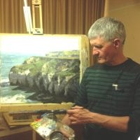 Bruce Mulcahy's demonstration evening