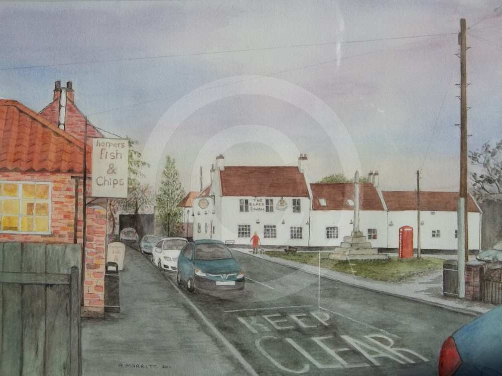 Market Cross Brandesburton by Andrew Marritt