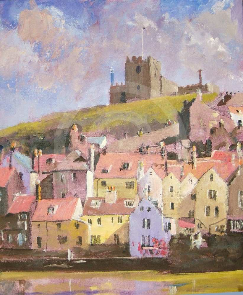 Whitby and St Marys by Hector Fraser