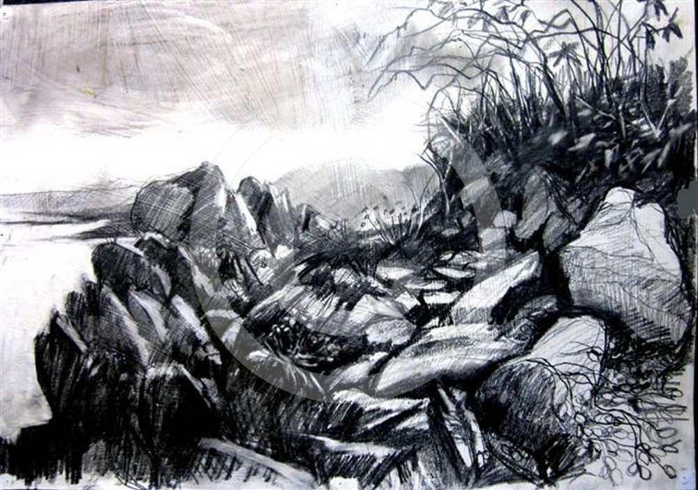 Rain on the Way by Mimi Claughton