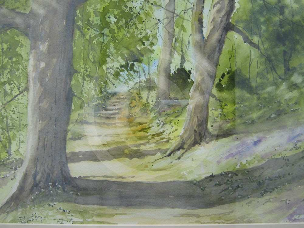 Woodland Path by Robert Kelly