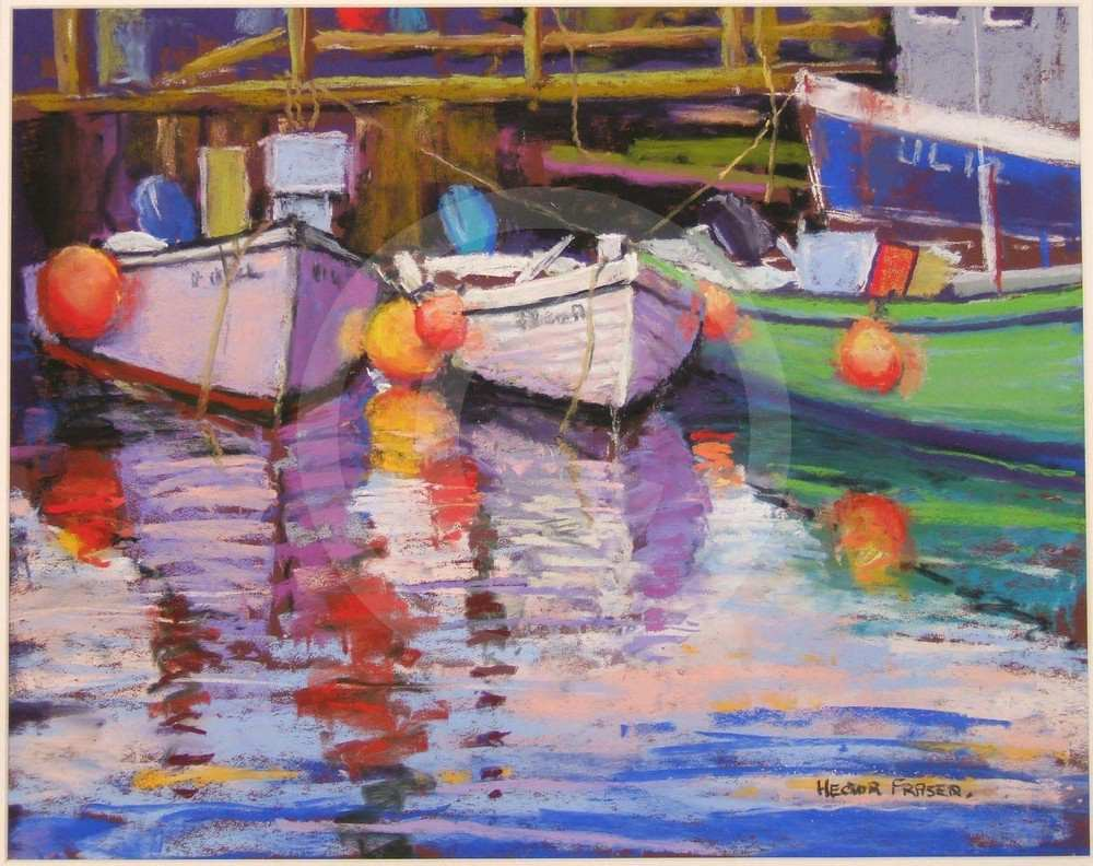 Boats and Floats by Hector Fraser