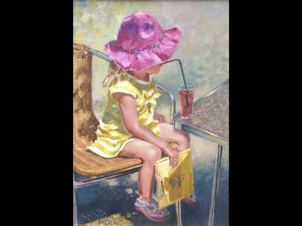 'I am thirsty' by Mary Dews