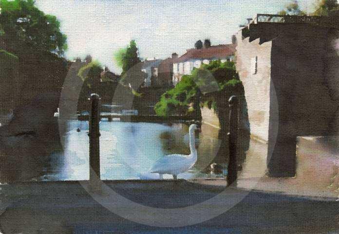The Horsewash – Nafferton Mere by Teresa Hollins