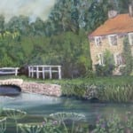 Brigham – pastel by Duncan Baird