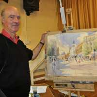 Demonstration evening with Tim Rose Oct 19th 2015