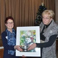 Driffield Art Club's Christmas meeting