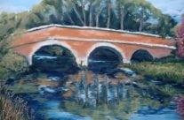Wansford Bridge – a pastel by Duncan Baird