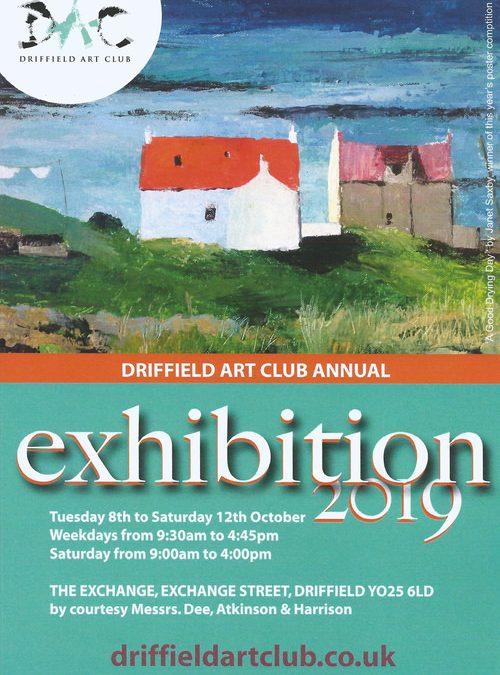 Driffield Art Club Annual Exhibition 2019